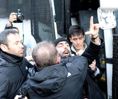 İstanbul'daki Charlie Hebdo protestosunda gerginlik
