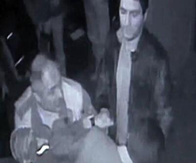 Esnafa polis dayağı kamerada