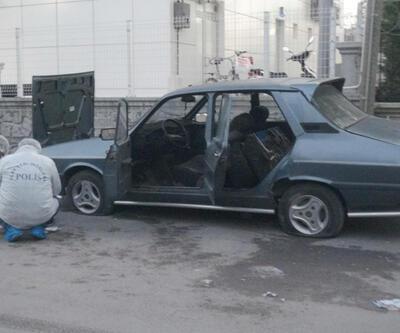 Otomobilde cephanelik bulundu