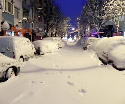 İstanbul'da son 28 yılın kar rekoru