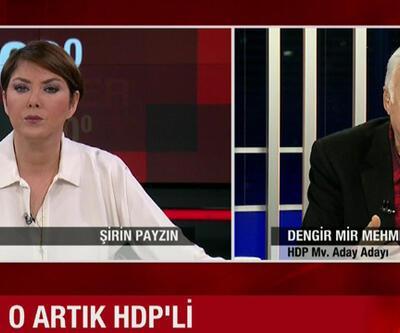 Dengir Mir Mehmet Fırat: HDP'nin yüzde 15 oy almasını bekliyorum