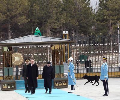 Cumhurbaşkanlığındaki törenin davetsiz misafiri