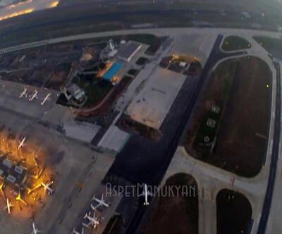 Atatürk Havalimanı'nda drone uçuran gence dava açıldı
