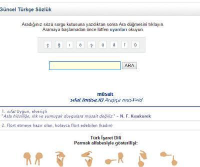 TDK'dan ''müsait'' açıklaması
