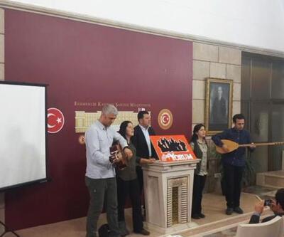 Grup Yorum Meclis'te konser verdi