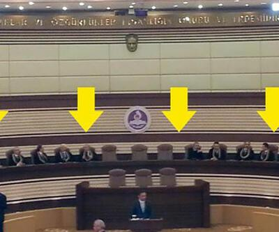 AYM'nin Yüce Divan Salonu'nda oturma düzeni değişti