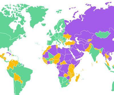 Freedom House raporunda Türkiye geriledi
