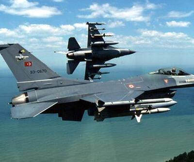 Türk F-16'ları IŞİD hedeflerini vurdu