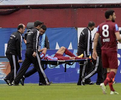 Trabzonspor'un yıldızı 6 ay yok!
