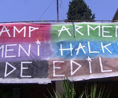 Kamp Armen'de nöbet tutuyorlar!