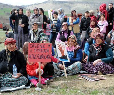 Zile'de köylüler kazandı