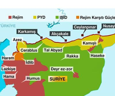 Suriye sınırında kriz senaryoları