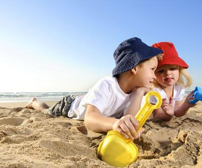 Su toplamış güneş yanığına dikkat!
