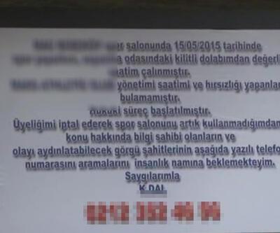 Çalınan 30 bin dolarlık saate billboardlı kayıp ilanı!