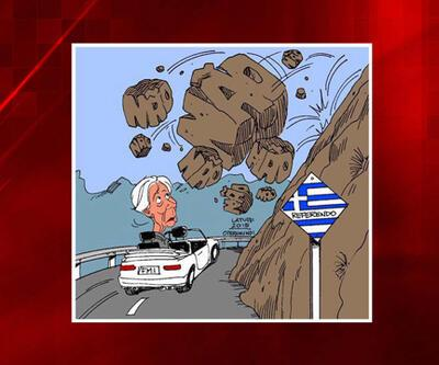 Yunanistan referandumu karikatürlere malzeme oldu
