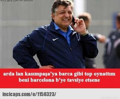 Arda Turan Barcelona'ya transfer olunca capsler