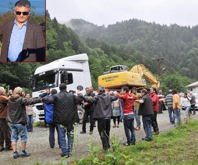 """Rize valisi """"Yeşil Yol"""" eylemcilerine kızdı"""