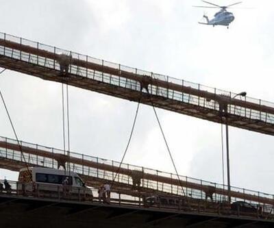 Boğaziçi Köprüsü'nde 6 saat süren intihar girişimi trafiği