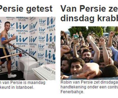 Van Persie transferi dünya basınında