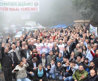 """CHP'li vekillerden """"Cerattepe"""" desteği"""
