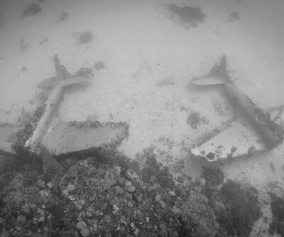 Okyanusun dibinde uçak mezarlığı bulundu!