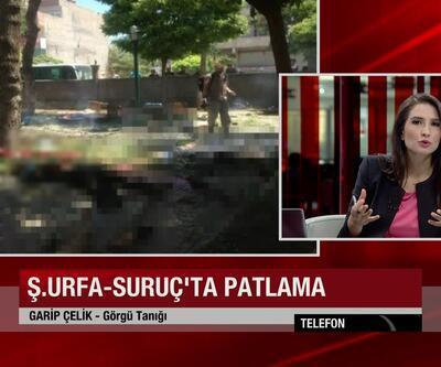 Suruç'taki patlamayı görgü tanığı CNN TÜRK'e anlattı