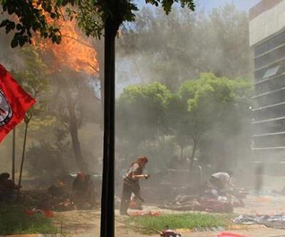 Şanlıurfa Suruç'ta bombalı saldırı