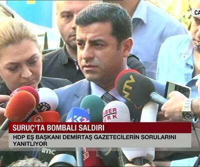 Selahattin Demirtaş'tan önemli açıklamalar
