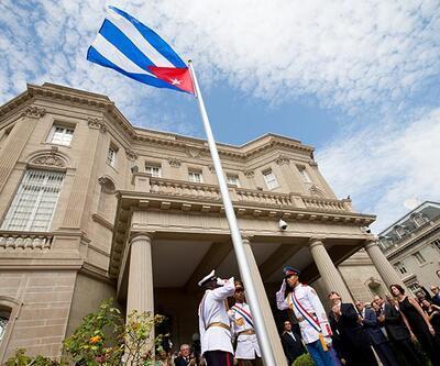 ABD'de Küba Büyükelçiliği açıldı, 57 yıl sonra ilk bakan ziyareti
