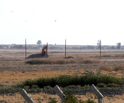 YPG Tel Abyad'da hendek kazıyor