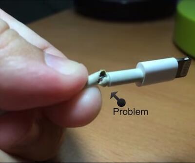 Şarj kablosu temassızlık yapanlara ilaç gibi çözüm!