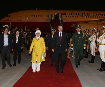 Cumhurbaşkanı Erdoğan Çin'e iner inmez önemli iki telefon görüşmesi yaptı