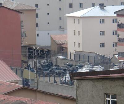 Yüksekova Emniyet Müdürlüğüne roketatarlı saldırı