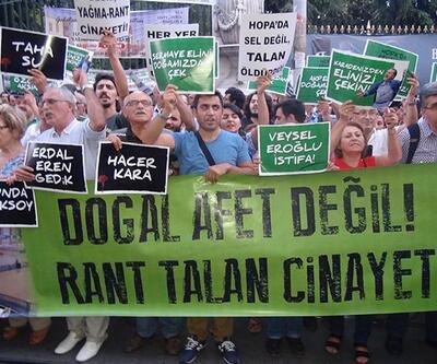 İstanbul'da Hopa eylemi
