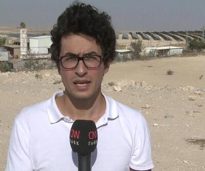 CNN Türk ekibi Negev'de