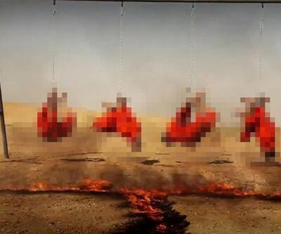 IŞİD, 4 Iraklı Şii'yi ayaklarından asıp, yakarak öldürdü