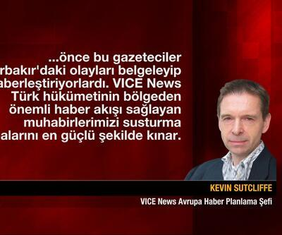 Vice News tutuklamalarına Amerika'dan tepki