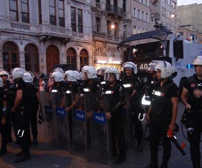 Taksim'deki barış eylemine polis müdahalesi