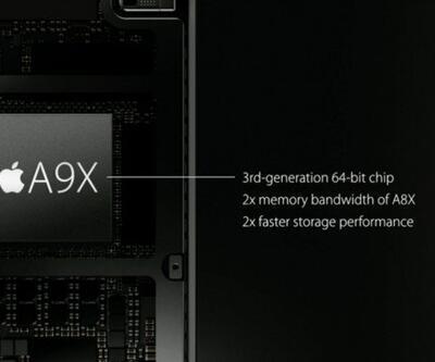 Apple A9X'i tanıttı!