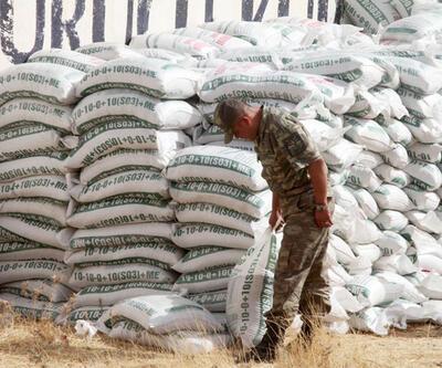 Mardin'de 20 ton amonyum nitrat ele geçirildi
