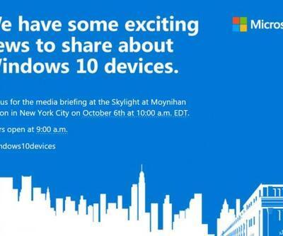 Microsoft Ekim'de bombaları patlatacak
