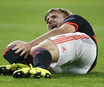 ManU'lu futbolcunun ayağı kırıldı