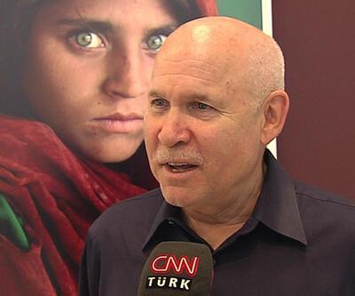 """""""Afgan Kız""""ın fotoğrafçısı McCurry CNN TÜRK'e konuştu"""