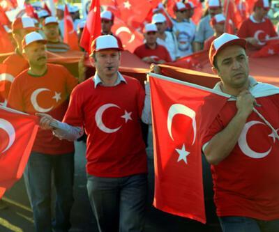 Ankara'da büyük yürüyüş