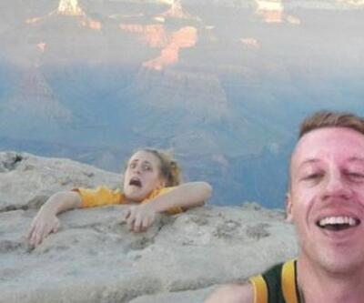 Selfie yaparken bacağını kaybediyordu!