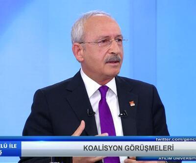 """Kılıçdaroğlu: """"Davutoğlu koalisyon görüşmelerinin tutanaklarını açıklasın"""""""