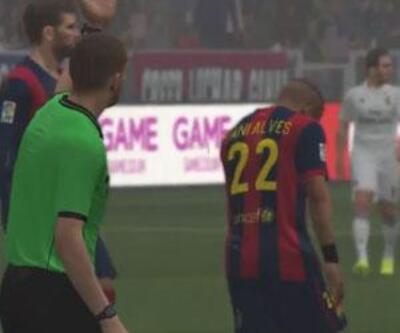 PES 2015'te İlk Barcelona - Real Madrid Karşılaşması! (Video)