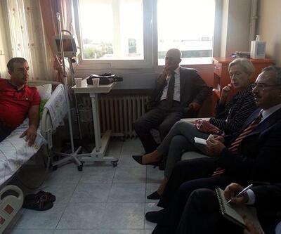 ABD Başkonsolosu eski DTP'li Başkan Demirbaş'ı ziyaret etti