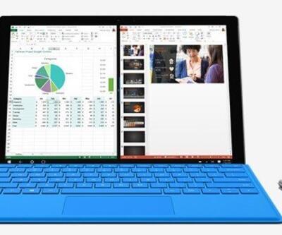 Microsoft Surface Pro 4'e güveniyor