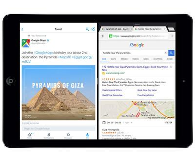Chrome tarayıcısı iOS 9 için güncellendi